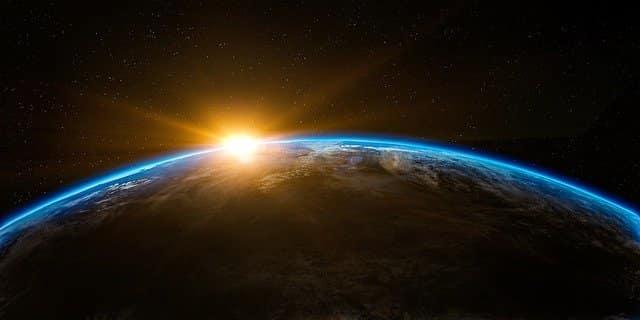 Google Earth tierra y sol